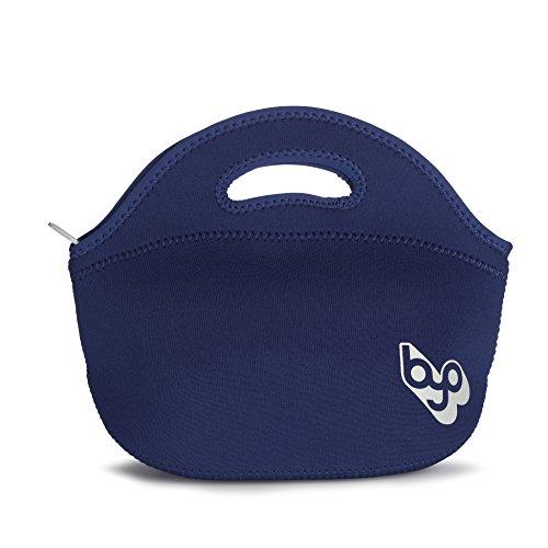 BYO 5212999 Rambler Insulated Neoprene Lunch Bag, Navy Blue