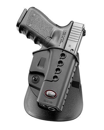 CM40 P40 P45 PM40 Fobus Conceal concealed carry New Design Left Hand 5cm Police Wide Belt ROTO Rotating Holster for Glock 17 19 22 23 // Walther PK-380 // Kahr CW40
