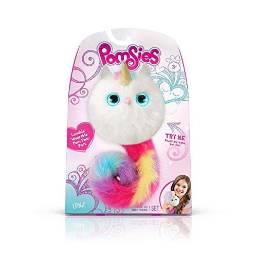 Pomsies - Luna The Unicorn Plush Interactive Toys