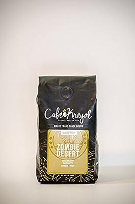 "Best Organic Haitian Coffee ""Zombie Desert"" A Direct Trade Smooth Medium Roasted Coffee"