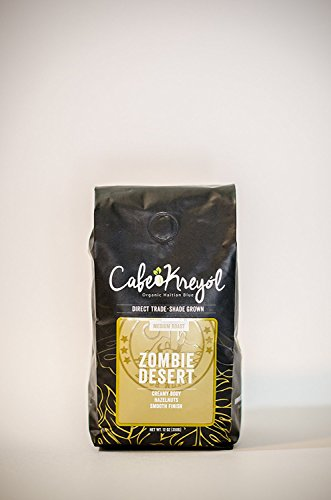 Best Organic Haitian Coffee 'Zombie Desert' A Direct Trade Smooth Medium Roasted Coffee