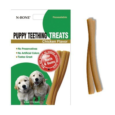 N- Bone Puppy Teething Treat 3.74 oz Size:Pack of 5 by N-Bone