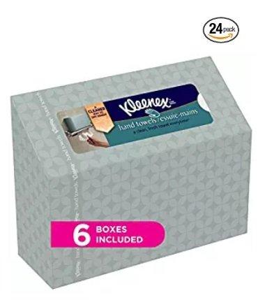 Kleenex - Toallas de Mano Desechables (60 Unidades, 6 Unidades)