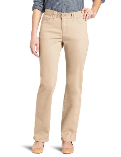 Lee Womens Classic Fit Jackie O Straight Leg Pant Caramel 18 Long