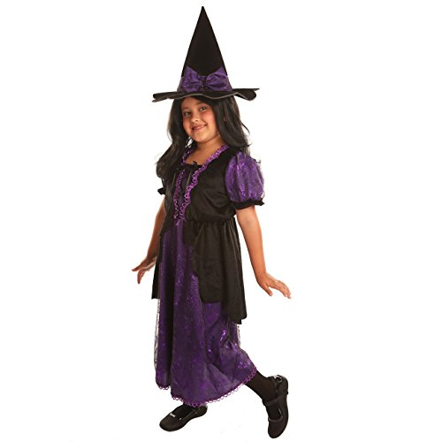 Disiao Wicked Witch Role Play Costume Set Halloween Suits Cosplay for Girl (M)
