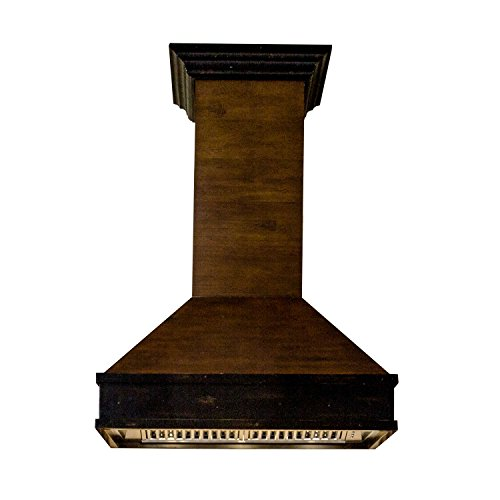 ZLINE 30 in. 900 CFM Designer Series Wooden Wall Mount Range Hood (329AH-30)