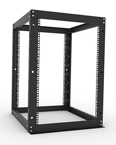 RackSolutions SonicFrame 16U Open Frame AV Rack 24-Inch ()