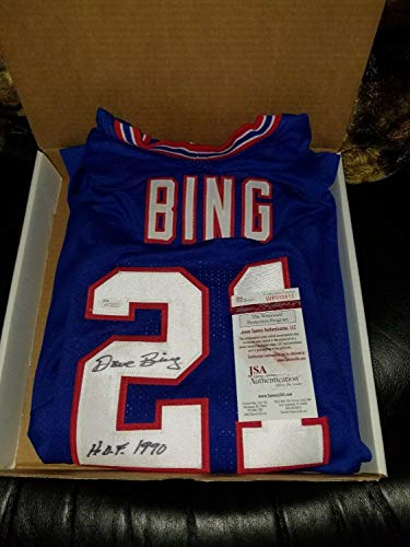 (Dave Bing Autographed Signed Nba Replica Xljersey with COA Detroit Pistons Memorabilia JSA )