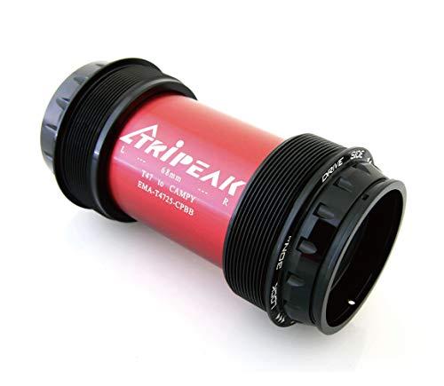 TRiREAK T47 Road Thread BB for Spindle 25mm Campy Ultra Torque Crank (No - Crank Torque Ultra