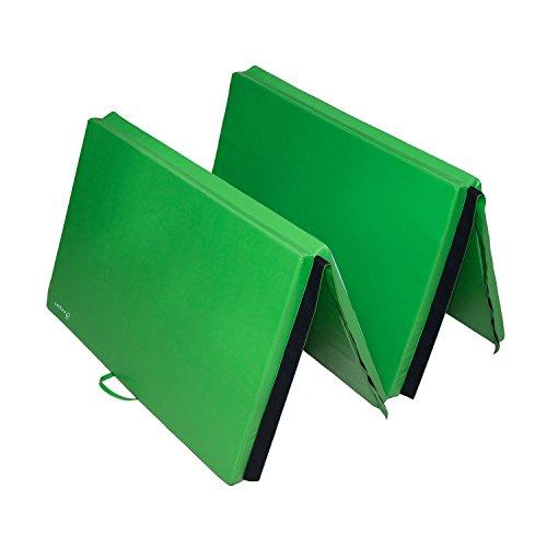 "NEW Sporting Goods Soozier 4'x10'x2"" Blue/Green Folding"