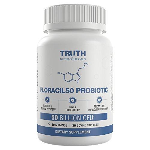 FLORACIL50 Probiotic Supplement Digestive Lactobacillus product image