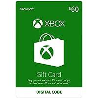 Xbox 60 Gift Card - Digital Code
