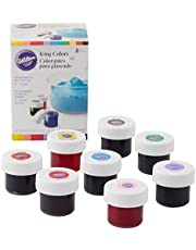Wilton 601-5577 Set of 8 Icing Colors Christmas Red