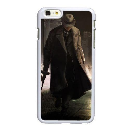 I2Q84 le parrain cinq familles O6D5RY coque iPhone 6 4.7 pouces cas de couverture de téléphone portable coque blanche WY5DOQ3ZM