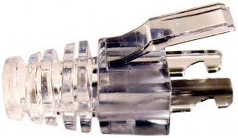Clear 500-Pack Platinum Tools 105015    EZ-RJ45 Cat5e Strain Relief