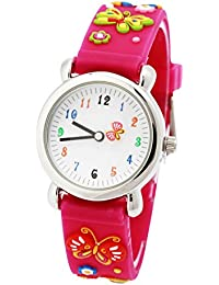 Kid's Watch, Cute Cartoon Butterfly Silicone Band...