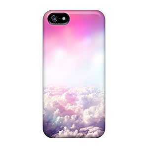 New Arrival Cases Covers With AKe21292bXhU Design For Iphone 5/5s- Heavenly Clouds