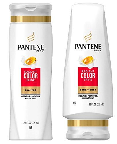 Pantene Pro-V Radiant Color Shine Shampoo  and Conditioner