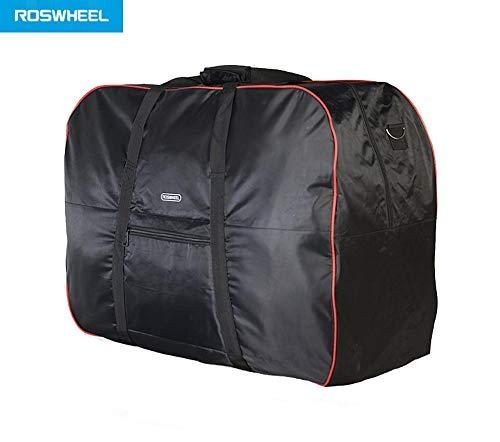 Padded Unisex High 58cm Foldup Wide Commuter Warehouse 28cm Like Bike Transport Bag Brompton Wide 77cm Bikes Black Shoulder Folding Carry Bag Roswheel qFEnvInwxH
