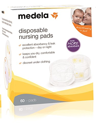 Medela Breast Pads (Medela Disposable Breast Milk Bra Pads x60 by Medela)