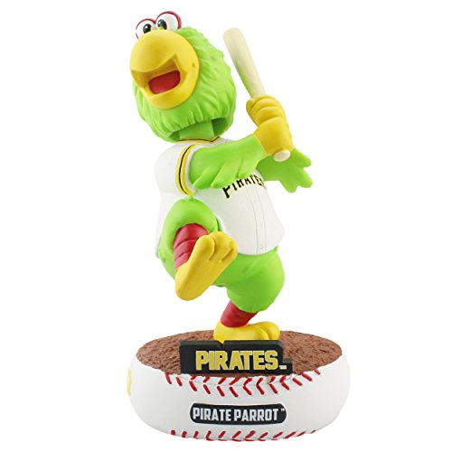 Forever Collectibles Pittsburgh Pirates Mascot Baller Special Edition Bobblehead MLB (Pirate Mascot Figure)