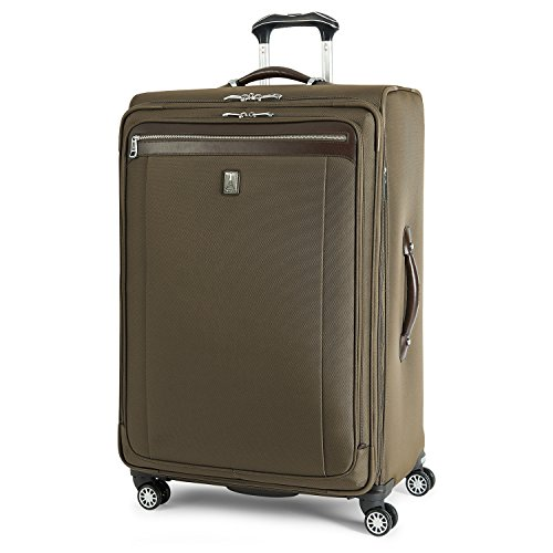 (Travelpro Platinum Magna 2 Expandable Spinner Suiter Suitcase, 29-in., Olive)