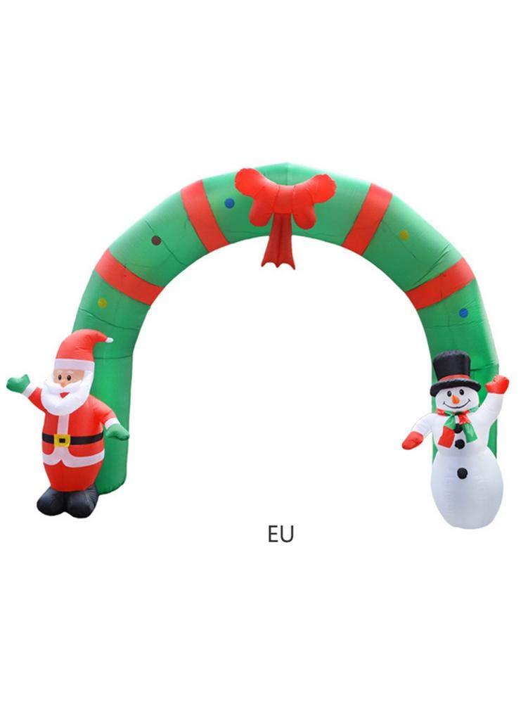 PoeticHouse Arco De Navidad Hinchable Navidad Inflable ...