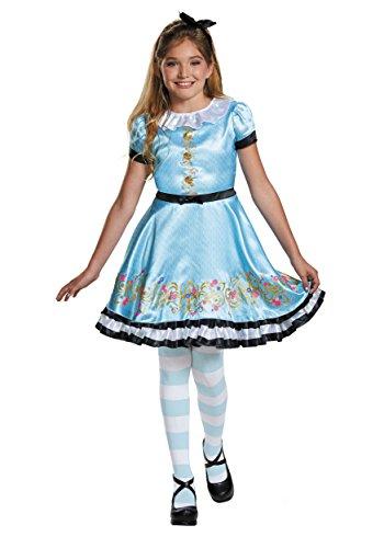 Ally Deluxe Descendants Wicked World Disney Costume, (Alice Girls Costume)