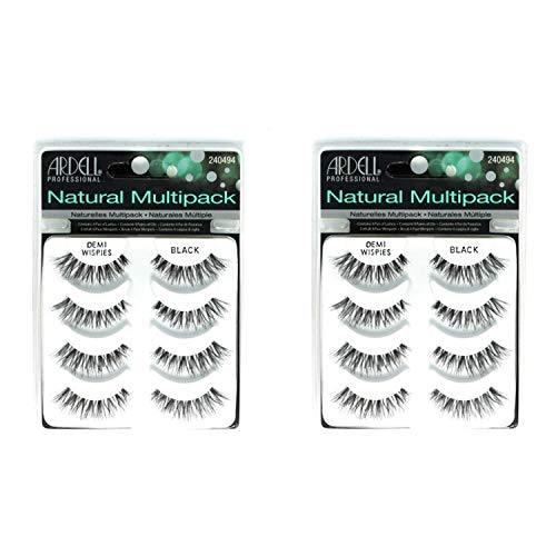 Ardell Demi Wispies Black Lashes - 4 Pack - 2 Pack