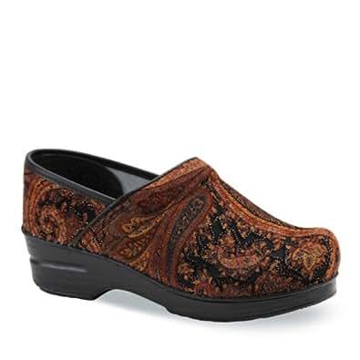 Amazon.com | Dansko Women's Vegan Pro 42 Brown Tapestry ...