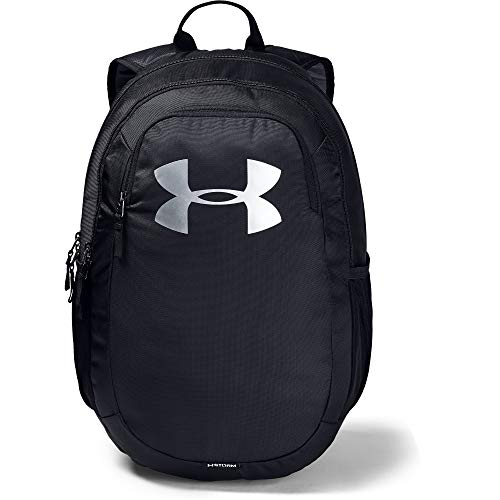 - Under Armour unisex-adult Scrimmage Backpack 2.0, Black (001)/Silver, One Size Fits All