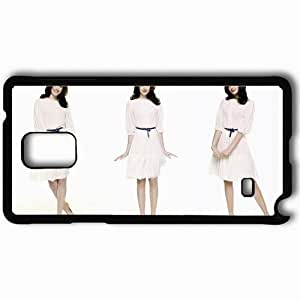 Personalized Samsung Note 4 Cell phone Case/Cover Skin Anne Hathaway Black by supermalls