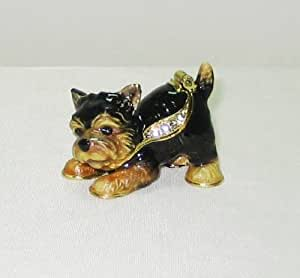 Amazon.com: Yorkie Yorkshire Terrier Dog Puppy Jeweled
