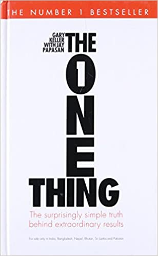buy the one thing book online at low prices in india the one thing