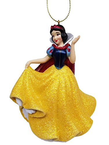 Snow White (Princess)) Figurine Holiday Christmas Tree Ornament - Limited Availability – Newest Design (Princess Snow White Figure)