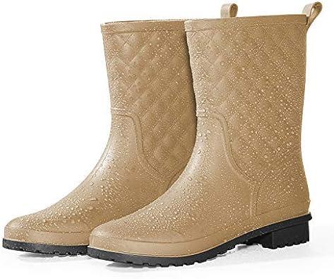 Amazon.com | Petrass Women Rain Boots