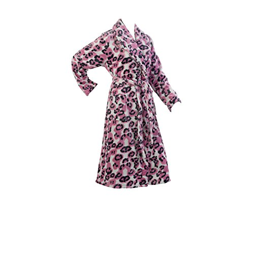 bright pink dressing gown - 8