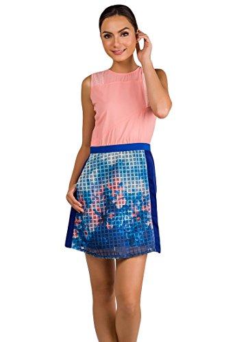 Plains and Prints Women's Garrison Sleeveless Dress Mediu...