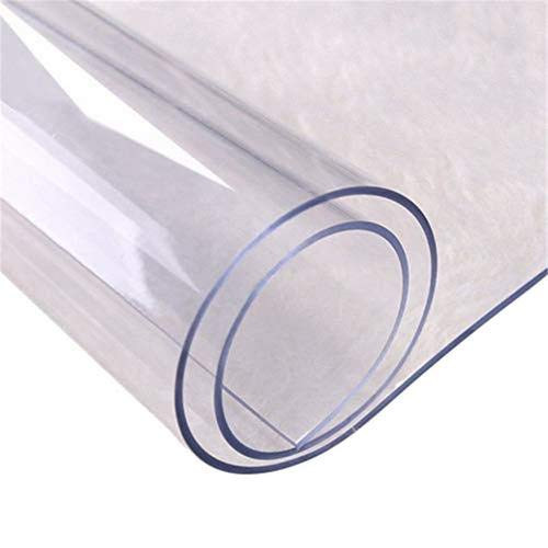 Knowled 1,5 mm Mantel Transparente Protector de PVC Impermeable ...
