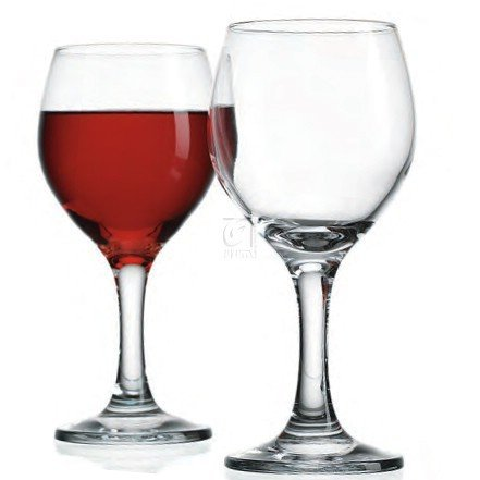 ESSENTIAL SET OF /4 RED WINE GOBLETS