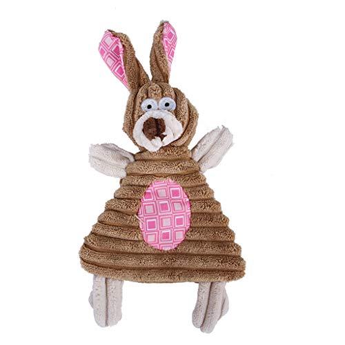 ペットのおもちゃ漫画ヒョウストライプのおもちゃぬいぐるみ犬のおもちゃ響くおもちゃ噛む玩具詰め玩具ストレスを軽減犬の体ペットの犬と犬のおもちゃインタラクティブ玩具耐久性のある耐久性のある機器サウンダー玩具 (ピンク)の商品画像