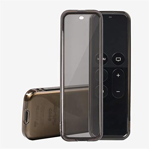 - IslandseFull TPU Silicone Case Cover TPU Protector for Apple TV 4K 4th Gen Siri Remote (B)