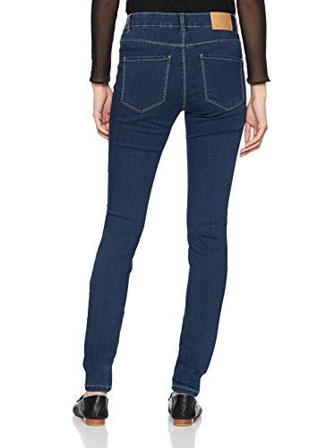 Vero Moda Blue Femme Denim Medium Slim Bleu Jean 4Bwpr7q4