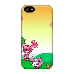 Premium Durable Tokidoki Fashion Tpu Iphone 5/5s Protective Case Cover