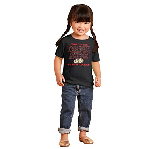 Brisco Brands Come to Dark Side Star Han Solo Wars Yoda Chewbacca Kylo Ren Toddler Infant T by Brisco Brands (Image #4)