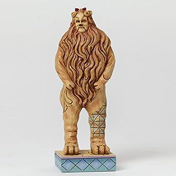 Jim Shore COWARDLY LION 4044761 Wizard Oz Courage