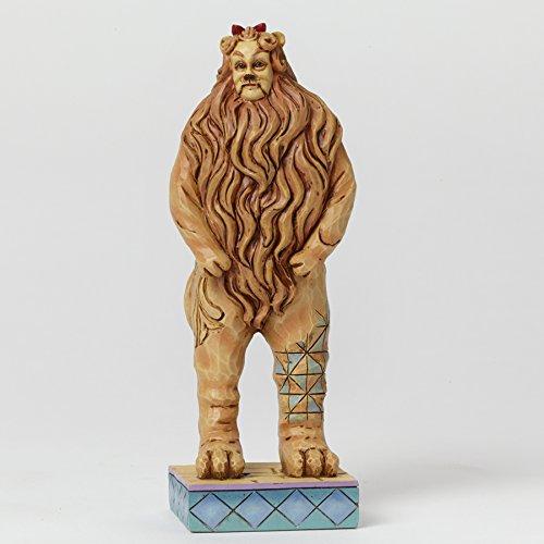 Jim Shore COWARDLY LION 4044761 Wizard Oz (Cowardly Lion Figurine)
