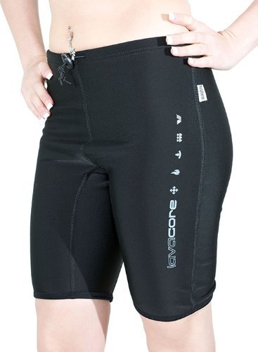 New LavaCore Trilaminate Polytherm Unisex Shorts (X-Small) for Extreme Watersports by Lavacore