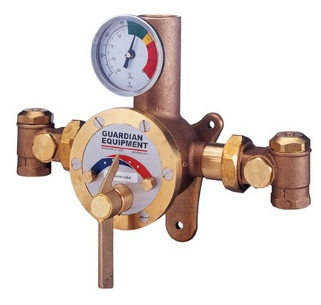 Guardian G3800 MIXING VALVE FOR EYE WASHES AND SHOWERS 1/EA