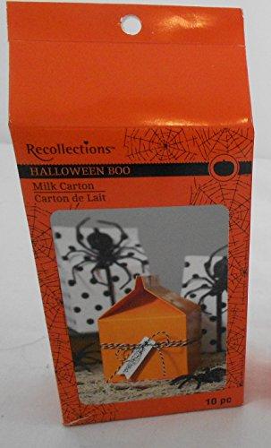 Halloween Boo Milk Cartons 10 (Halloween Boo Game Instructions)